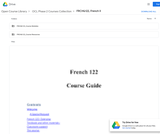 French II (FRCH 122)