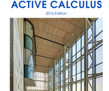 Active Calculus 1.0