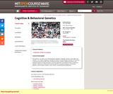Cognitive and Behavioral Genetics, Spring 2001