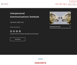 Interpersonal Communications Textbook