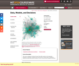 Data, Models, and Decisions, Fall 2014