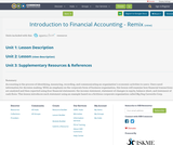 Introduction to Financial Accounting - Remix