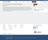 DEED 728 Dissertation Proposal Development / Advanced Research Design