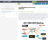 An OER Mashup: Astronomy Redesign
