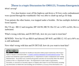 EMS123 Trauma Emergencies Discussions