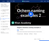 Organic Chemistry: Organic Chemistry Naming Examples 2
