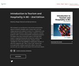 Introduction to Tourism and Hospitality in BC – 2nd Edition