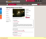 Lighting Design for the Theatre, Fall 2003