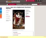 France, 1660-1815: Enlightenment, Revolution, Napoleon, Spring 2011