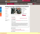 Building Technology III: Building Structural Systems, Fall 2004