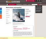Marine Power and Propulsion, Fall 2006