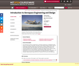 Introduction to Aerospace Engineering and Design, Spring 2003