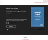 Home and School: Ten Easy Picture Stories for Beginning Students of English