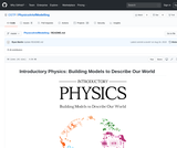 Introductory Physics: Building Models to Describe Our World
