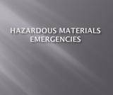 EMS123 Trauma Emergencies Hazardous Materials Emergencies PowerPoint Presentation