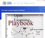 The Open License Playbook Webinar
