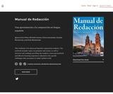 Manual de Redacción : Una aproximación a la composición en lengua española