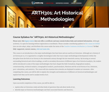 Art Historical Methodologies