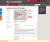 Applied Economics for Managers, Summer 2004