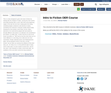 Intro to Fiction OER Course