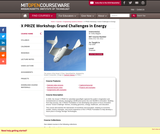 X PRIZE Workshop: Grand Challenges in Energy, Fall 2009