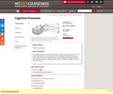 Cognitive Processes, Spring 2004