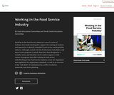 Working in the Food Service Industry
