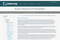 Principles of Management (Business 208)