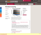 Biomedical Computing, Fall 2010
