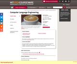 Computer Language Engineering, Spring 2010