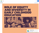 The Role of Equity and Diversity in Early Childhood Education