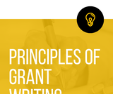 DEED 601 - Principles of Grant Writing: Text and Course Companion