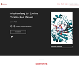 Biochemistry 551: Biochemical Methods Lab Manual
