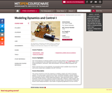 Modeling Dynamics and Control I, Spring 2005