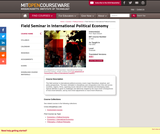 Field Seminar in International Political Economy, Fall 2003