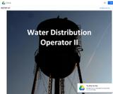 Water Distribution Operator II