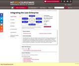 Integrating the Lean Enterprise, Fall 2005