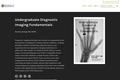 Undergraduate Diagnostic Imaging Fundamentals