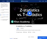 Statistics: Z-Statistics vs. T-Statistics