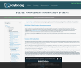 Management Information Systems (Business 206)