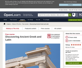 Discovering Ancient Greek and Latin