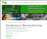 Introduction to Biomanufacturing