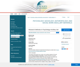 Research Methods in Psychology Ancillary Set