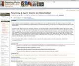 Newsmap-France: Lisons les Manchettes!