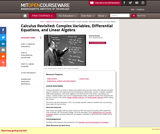 Calculus Revisited: Complex Variables, Differential Equations, and Linear Algebra, Fall 2011