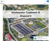 Wastewater Treatment &  Disposal II