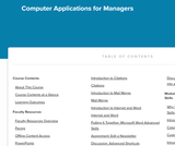 Computer Applications for Managers