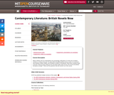 Contemporary Literature: British Novels Now, Spring 2007