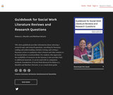 Guidebook for Social Work Literature Reviews and Research Questions