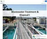Wastewater Treatment &  Disposal I